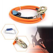 Steel Core Lanyard Kit 12 X 10 Ft Flip Line Kit For Tree Climbing Lanyard 3m