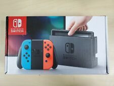 Nintendo Switch - 32GB Gray Console - (with Neon Joy-Cons) Fast Shipping NEONB1