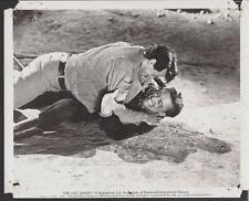 Rock Hudson Kirk Douglas The Last Sunset 1961 original movie photo 25234