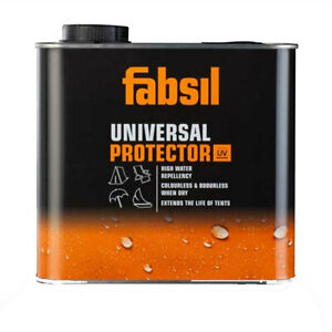 Fabsil 2.5 L Litre Brush on Waterproofing Sealant Tent Awning Canvas Grangers