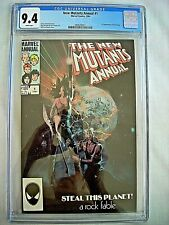 Marvel NEW MUTANTS ANNUAL #1 CGC 9.4 NM White Pages 1984 1st Appearance Cheney