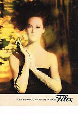 PUBLICITE ADVERTISING  1963  FILEX  gants nylon 2