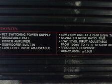POTENTE AMPLIFICATORE PER CAR STEREO DOXON DX4021 40W+40W HI-FI MP3 MUSICA AUTO