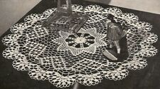 Vintage Crochet Centerpiece Doily #36 PATTERN ONLY
