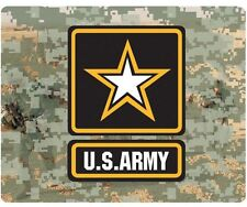 US ARMY STAR NEOPRENE MOUSE PAD - MADE IN USA!