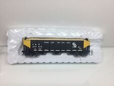Atlas #2001866  C&O (wood chip service) 70 Ton 9-Panel Hopper 2 Rail O Scale NEW