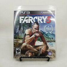Far Cry 3 (Sony PlayStation 3, 2012) PS3 Complete with Manual (Damaged Case)