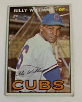 1967 Billy Williams # 315 Chicago Cubs Topps Baseball Card HOF