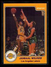 1983-84 Star Company JAMAAL WILKES card # 24