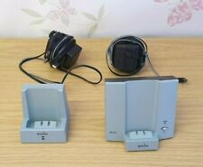Binatone E3250 Base Station Charger Pod Dock Power Supply x2 for Cordless Phone