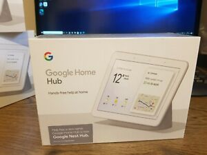 Google Nest Home Hub - Chalk - New