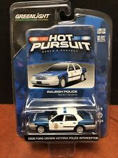Greenlight Hot Pursuit Series 9 Raleigh Police Ford Interceptor Dela1177