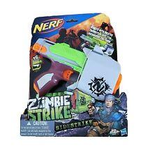 Nerf Zombie Strike Sidestrike Blaster w/ Holster & Darts NIB