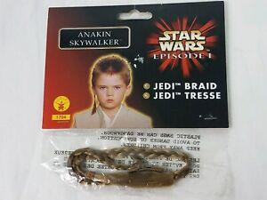 Jedi Braid Licensed Star Wars Blonde Braided Hair Attachment Obi-Wan Or Anakin