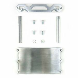 OPTIMA STYLE BILLET BATTERY HOLD DOWN TRAY GROUP 34 78 RED YELLOW BLUE TOP