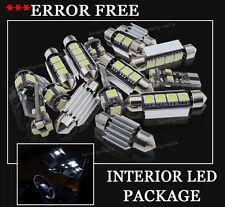 14x Bulbs For RANGE ROVER SPORT 2005-2010 INTERIOR PACKAGE WHITE LED LIGHT KIT