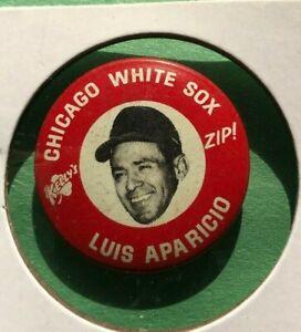 1969  LUIS APARICIO  Kelly's Potato Chips ZIP  Baseball Pin Back Button  Sox