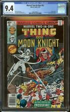 Marvel Two-In-One #52 CGC 9.4 Moon Knight 1st William Cross Crossfire