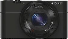 Open-Box Excellent: Sony - Cyber-shot RX100 20.2-Megapixel Digital Camera - B...