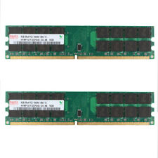 16GB For Hynix 2x 8GB DIMM DDR2 PC2-6400U 800MHz Desktop Memory for AMD RAM @RS