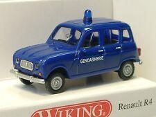 Wiking renault r4 gendarmería/france - 0224 04 - 1/87