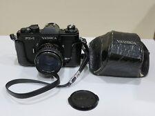 Rare Vintage YASHICA FX-1 Electro  Film SLR Camera w/ original Lens & Case