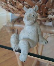 Quarry Critters Ricco.Shelf Sitting Rhino Figurine