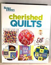Cherished Quilts Better Homes And Gardens Hardcover Spiral Bound Book 2014