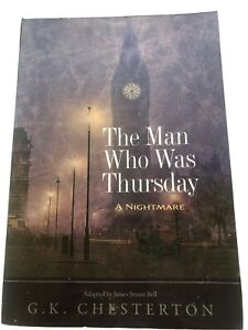 The Man Who Was Thursday: A Nightmare (Penguin C... by Chesterton, G K Paperback
