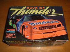 1990 MONOGRAM Model DAYS OF THUNDER HARDEE'S LUMINA STOCK CAR Kit #2920