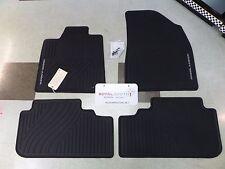 Toyota Highlander Hyb 08-13 Factory All Weather Rubber Floor Mats Genuine OEM OE
