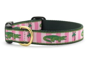 Up Country - Dog Puppy Design Collar - Made In USA - Alligator - XS S M L XL XXL
