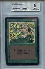 MTG Alpha Regeneration BGS 9.0 (9) Mint Card Magic the Gathering WOTC 5048
