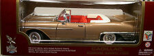 GOLD 1958 CADILLAC ELDORADO CONVERTIBLE YAT MING 1:18 SCALE DIECAST MODEL CAR