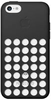 Apple Case for iPhone 5C Silicone Dot Cover - Black