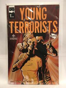 Young Terrorists #1 FB Jetpack Variant VF/NM 1st Print Black Mask Comics