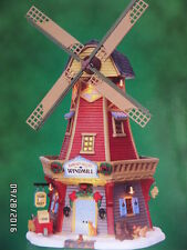 Lemax Harvest Valley WLemax Harvest Valley Windmill Christmas Village Collection