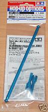 Tamiya 54026 TT-01 Aluminum Propeller Joint & Shaft, TT01/TT01D/TT01E/TT01ES NIP