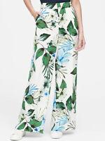 NWT Banana Republic New $110.00 Women High-Rise Wide-Leg Pant Size 0, 2, 4, 6