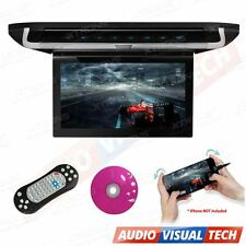 "XTRONS 10"" HD Car Van Roof Mounted DVD Player Flip Down Monitor Touch Panel HDMI"