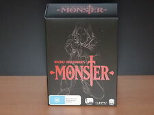 Naoki Urasawa's Monster (Ep 1-74 Complete Series) - 15 DVD R4 Cult Anime