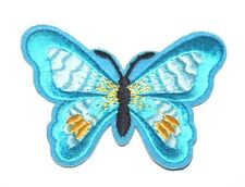 Butterfly Embroidery Sew, Iron On Patch for Clothes, Jeans, Fabric Applique DIY