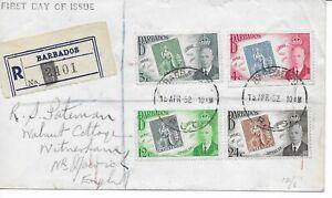 BARBADOS - KGVI 1939~1952 - FDC  Registered