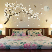 Wall Stickers Tree Birds Flower Home Decor Huge Diy Vinyl Sticker Living Room