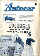 AUTOCAR MAGAZINE 1956-6/4 NASH RAMBLER STATION WAGON ROAD TEST - STOCKHOLM SHOW