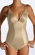 *NEW DONNA KARAN LUXE SHAPING BODYSUIT NUDE SIZE 36DD #666071
