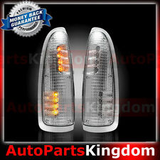 Clear Lens AMBER LED Side Mirror Marker Light 2003-2007 Ford F250 F350 F450 F550