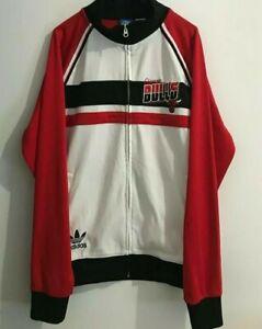 Rare Adidas Chicago Bulls Collection Track Jacket XL Retro Vintage Jordan Rodman