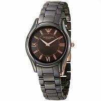 Emporio Armani Women's AR1445 Ceramic Brown Ceramic Bracelet Watch