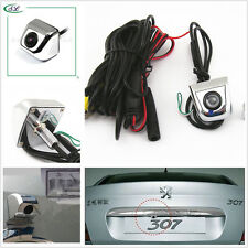 Free Drill Compact Car Rear Reverse Backup Parking Camera on License Plate Frame